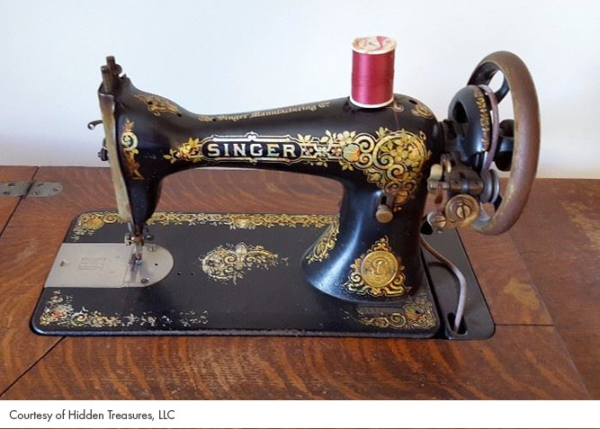 An Introduction To Sewing Machines EstateSalesNET Blog Enchanting Singer Sewing Machine Company