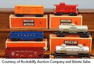 Collecting Lionel Trains Estates