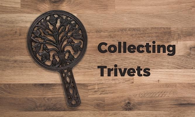 decorative cast iron trivet