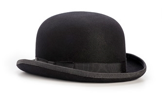 1c351922 We would be remiss if we didn't mention this stiff felt hat made famous by  Charlie Chaplin. A more common style in Great Britain, where it originated,  ...