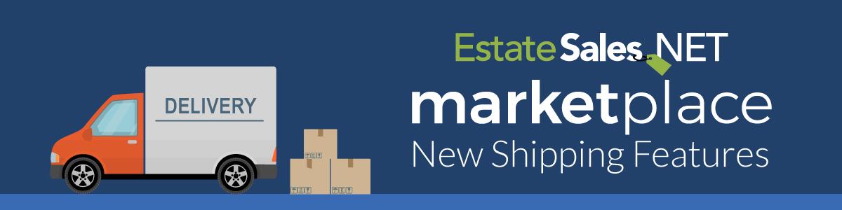 EstateSales.NET New Shipping