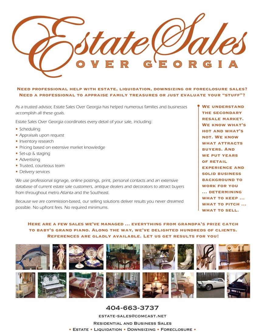 Estate Sales Over Georgia Details