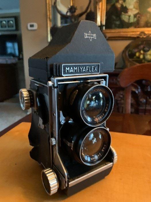 mamyaflex film camera for sale at estate sale