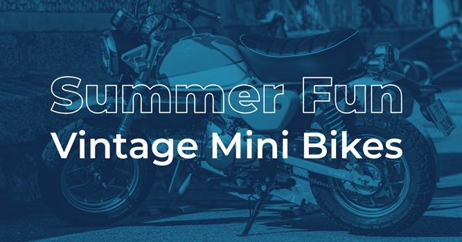 Summer Fun - Vintage Mini Bikes