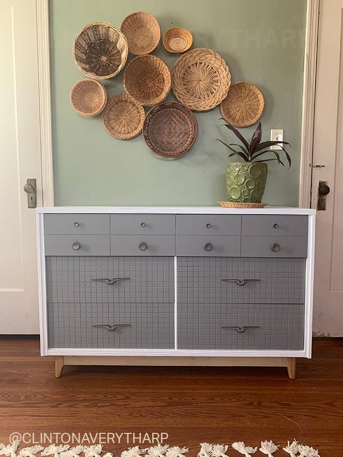 After: Painted Dresser