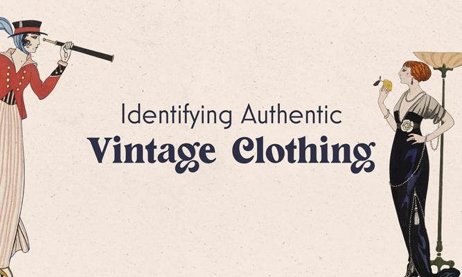 Identifying Authentic Vintage Clothing