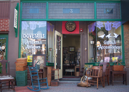 Picture of DOVETAIL business store front