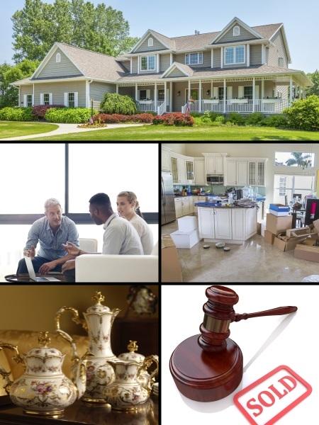 Estate Sale collage