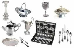 sterling flatware bowls trays etc