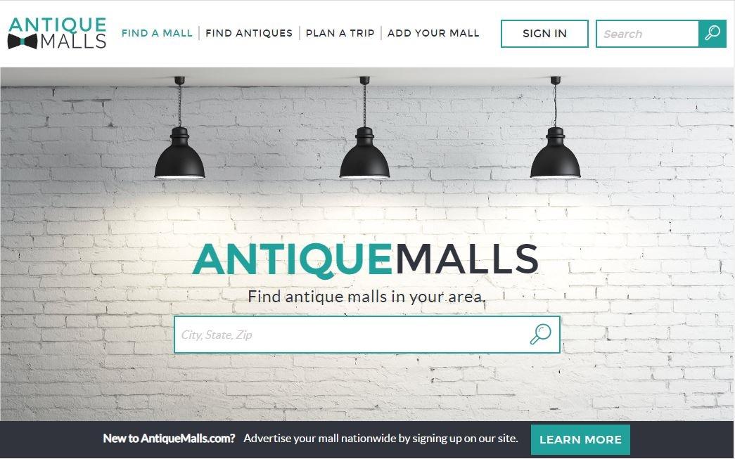 AntiqueMalls.com Home Page
